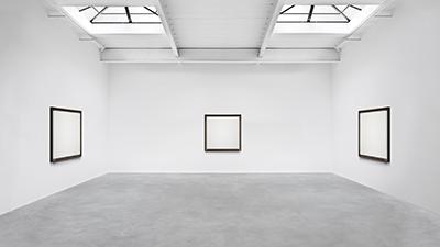"THE EUGENE Studio White Painting ""Trinity"""