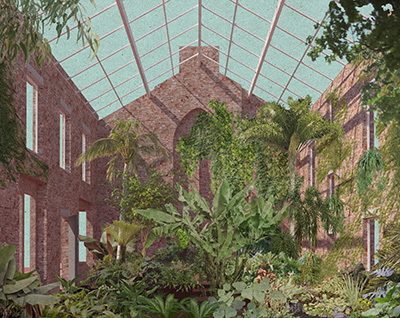 ASSEMBLE Granby Winter Garden Collage. Image: Assemble, Granby Workshop / Assemble
