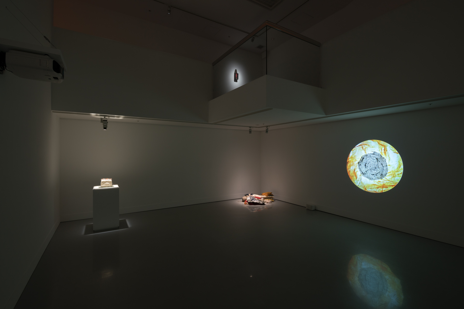 沖潤子展 撮影:加藤健