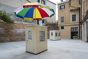 Installation of 'You (you).' – Lee Kit, Hong Kong at the 55th International Art Exhibition La Biennale di Venezia 2013 Courtesy the artist, M+, WKCDA and HKADC Photo by David Levene