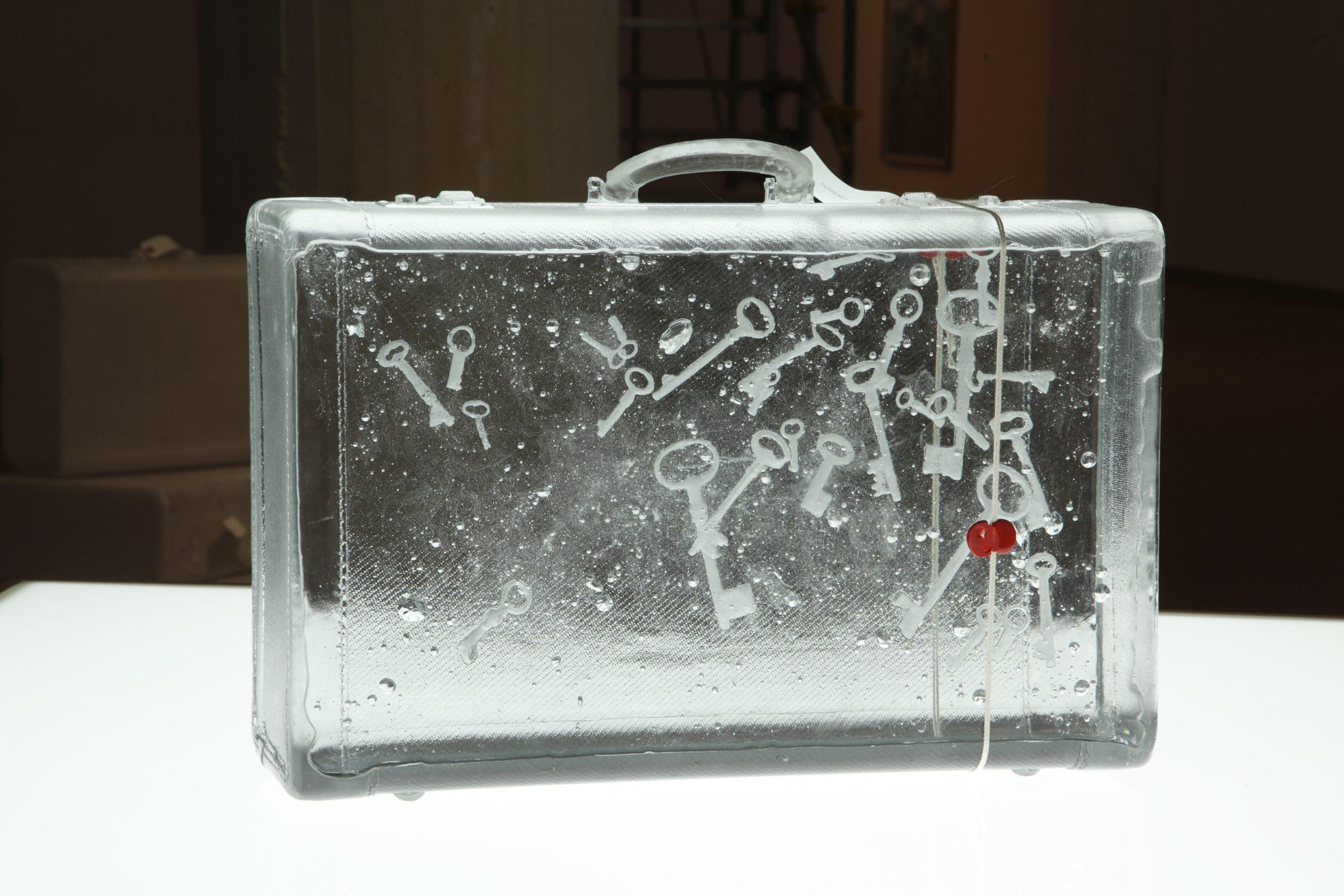 Aiko Miyanaga 《suitcase -key-》2013 Photo by Kazuo Kioku